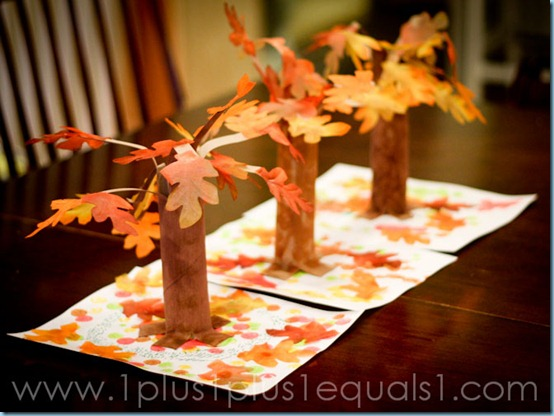 Something special fall tree craft