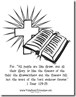 Totally Tots: In My Heart ~ 1 Peter 1:24-25