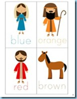Nativity Preschool Pack colors