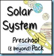 Solar System Preschool Pack
