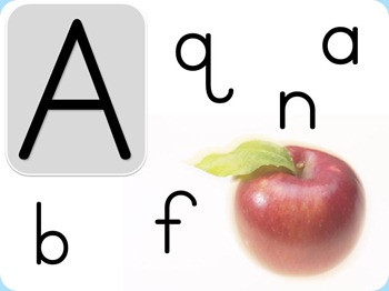 Upper Lowercase ABCs a