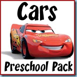 Cars Preschool Pack