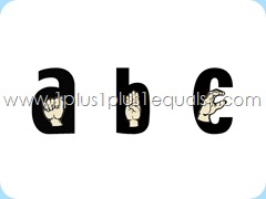 ASL Alphabet PowerPoint 3