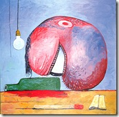 014 philip guston - head and bottle