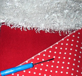 rolled hem and magnetic screwdriver