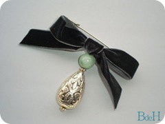 Broche amazonita