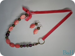 conjunto pink velvet