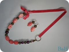 conjunto pink velvet