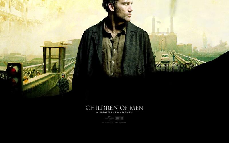 Children of Men promotional poster (dir. Alfonso Cuarón, 2006).