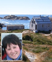 SUSAN SMIRK: Visited the abandoned fishing village of Ikateq