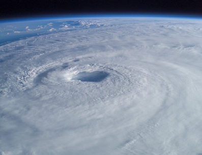 Hurricane Isabel, September 2003. Image from nasa.gov