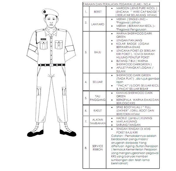 Baju Pegawai Krs