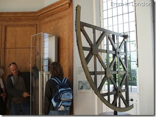 Astronomical quadrant, Octagon Room, Royal Observatory