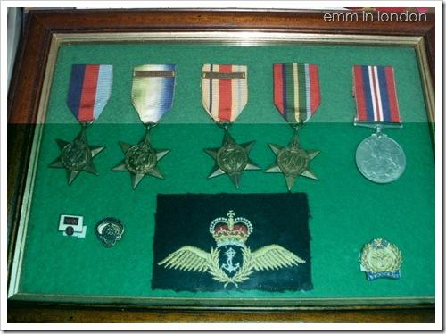 Grandad's Medals