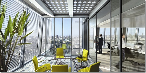 The Shard office interior 2012