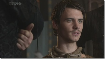 Harry Lloyd is Will Scarlett