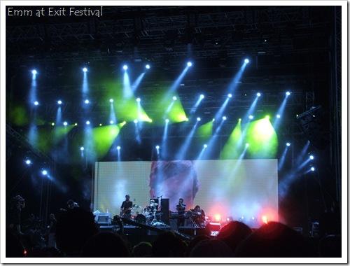 Klaxons at Exit Festival 2010