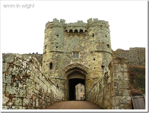 Carisbrooke Castle - Gatehouse