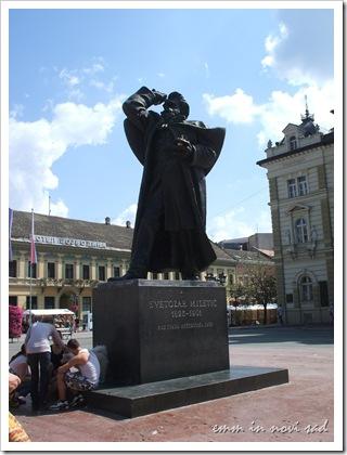Svetozar Miletic, Trg Slobode, Novi Sad