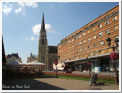 Contrasts (Trg Slobode, Novi Sad, Serbia)