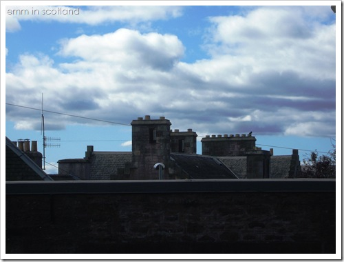 Rooftops in Crieff