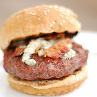 Bacon & Blue Cheese Burgers