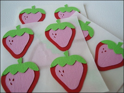 Strawberry-stickers