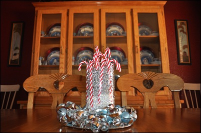 Candy Cane Centerpiece