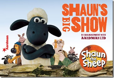 Shaun the sheep – meet and greet and touch tour