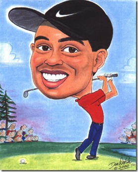 caricature-tiger-woods