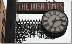 The Irish Times Clock