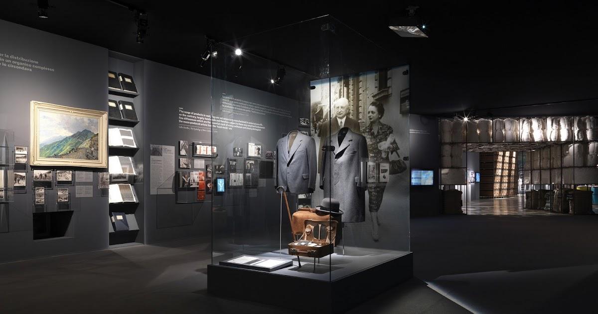 Centennial exhibition 39 ermenegildo zegna 100 anni di for Viale alemagna 6 milano