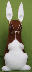 Felt bunny tutorial