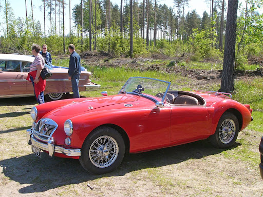 Picture of Luxury roadster MG-MGA, Mg classic model car, Stylish MG-MGA