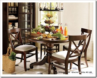 Harvest Pedestal Dining Table