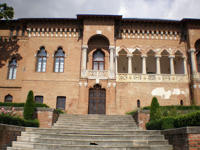 Brancoveanu's palace in Mogosoaia - front