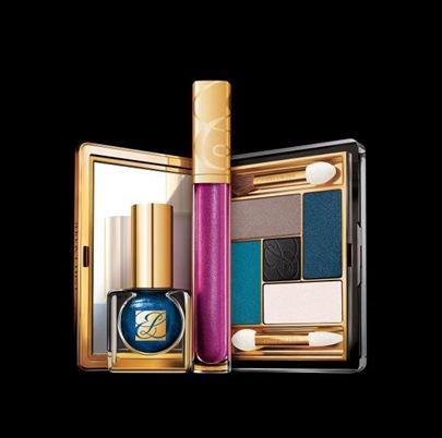 Estee-Lauder-Blue-Dahlia-makeup