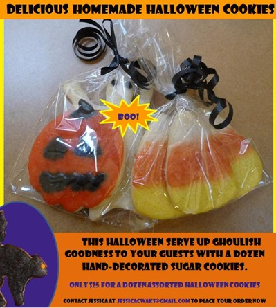 HALLOWEEN COOKIES FLYER