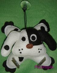 porta-recados-cachorro