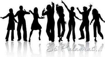 silhueta pessoas dançandowebvao