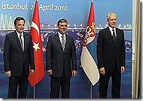 Истанбул: Силајџић, Гул, Тадић (април 2010)