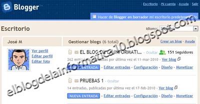 Nuevo diseñador de plantillas en Blogger