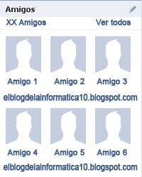 Facebook: configurar panel de Amigos