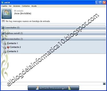 MSN: Comprobar quien te ha eliminado con aMSN