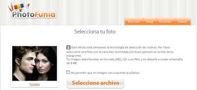PhotoFunia: Realizar fotomontajes