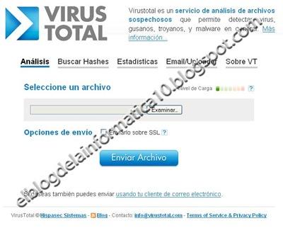 Analizar archivo con varios antivirus