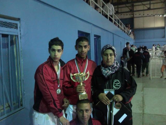 فريق الإنتصار أشبال يتحصل على المرتبة الثالثة في كأس الجزائر للكراتي دو SNC00182