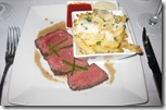 BIX in San Francisco - American Kobe Bavette Steak with truffle french fries