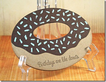 Skipping Stones Donut Shaped Front