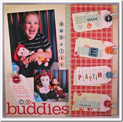 My Buddies layout